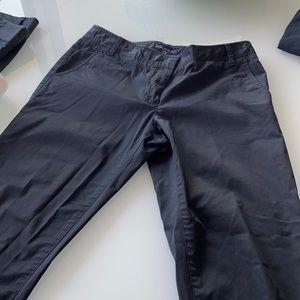 Tommy Hilfiger black capris size 8